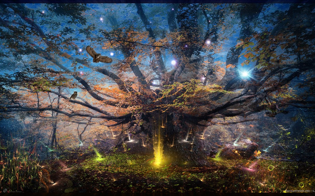 After Earth – 2020 digital art series